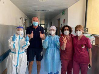 Ugo Cappellacci dimesso dall'ospedale dopo il Covid