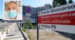 Pronto soccorso bloccato a causa dei pazienti Covid - Marracini: «Vaccinatevi, non c'è una terapia per curare la malattia»